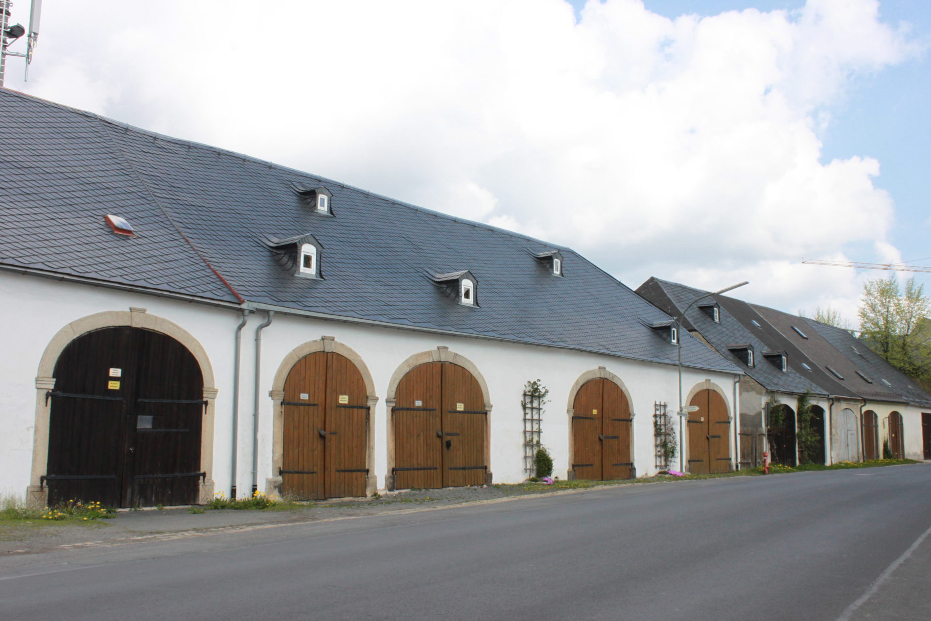 Scheunenreihen Weißenstadt