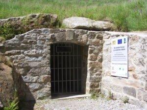 Eingang zum Bergwerk Werra