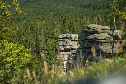 Geotop Fichtelgebirge am Rudolfstein