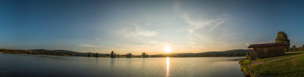Weißenstädter See am Abend