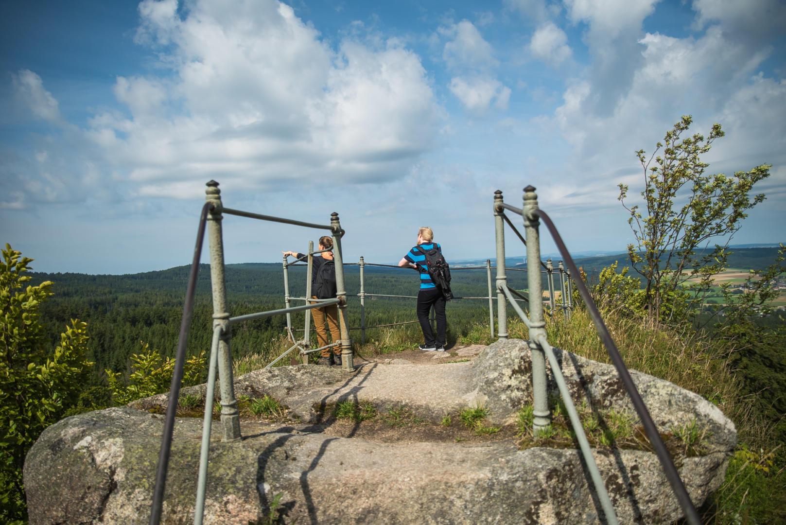 Wandern am Rudolphstein
