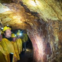 Führung im Bergwerk
