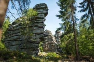Felstürme Drei Brüder, Berge um Weissenstadt