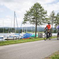 Radfahren am Weißenstädter See