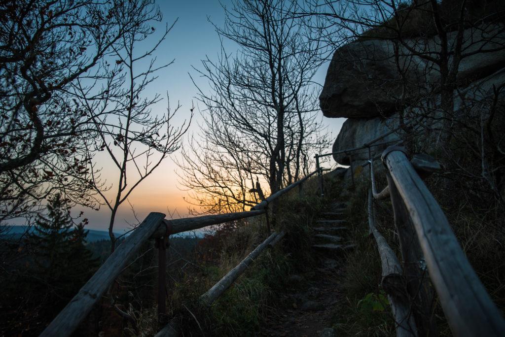 Wandern am Waldstein