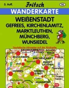 Wanderkarte Weißenstadt von Fritsch