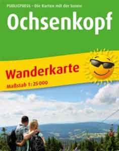 Wanderkarte Ochsenkopf von Publicpress