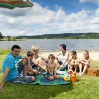 Wassersport mit der Familie