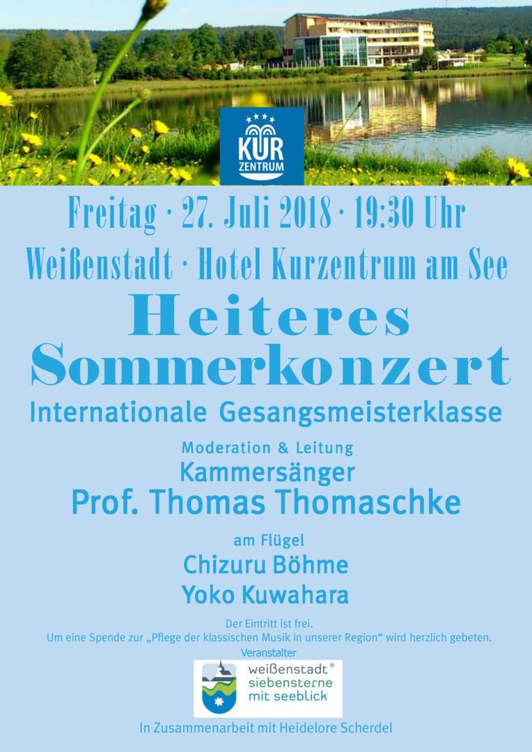 Heiteres Sommerkonzert 2018