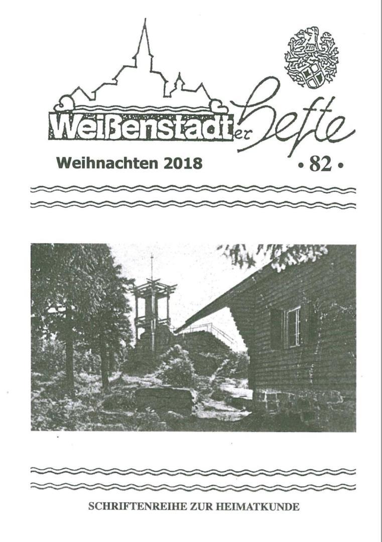 Weißenstädter Heft Nr.82