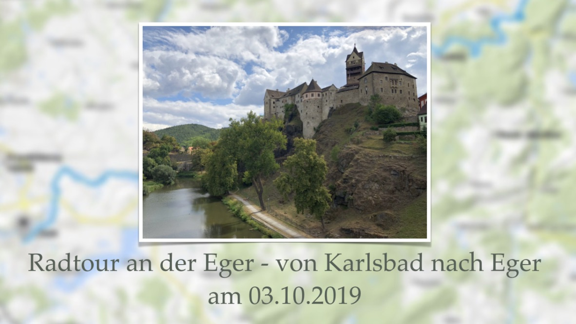 Ankündigung Radtour Karlsbad-Eger