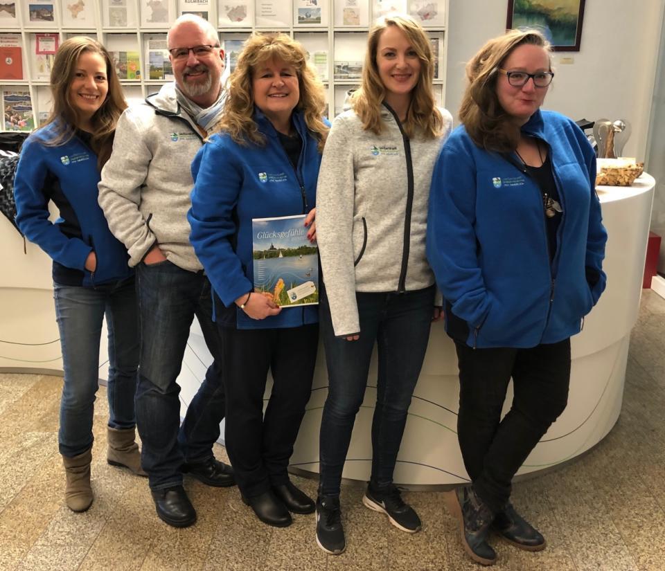 Das Team der Tourist-Informatiuon Weißenstadt