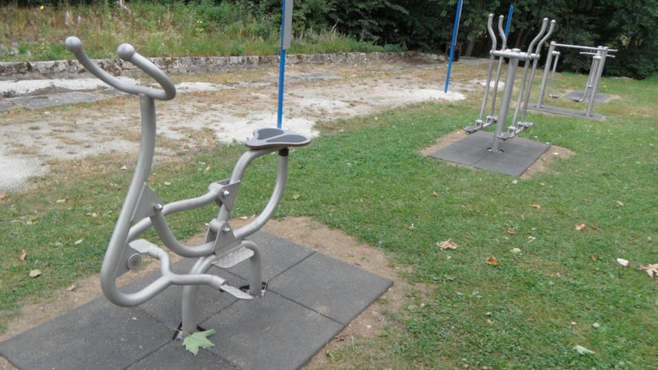Kurpark Fitnessgeräte