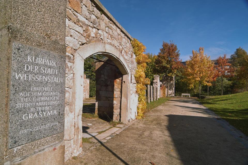 Ruine im Kurpark