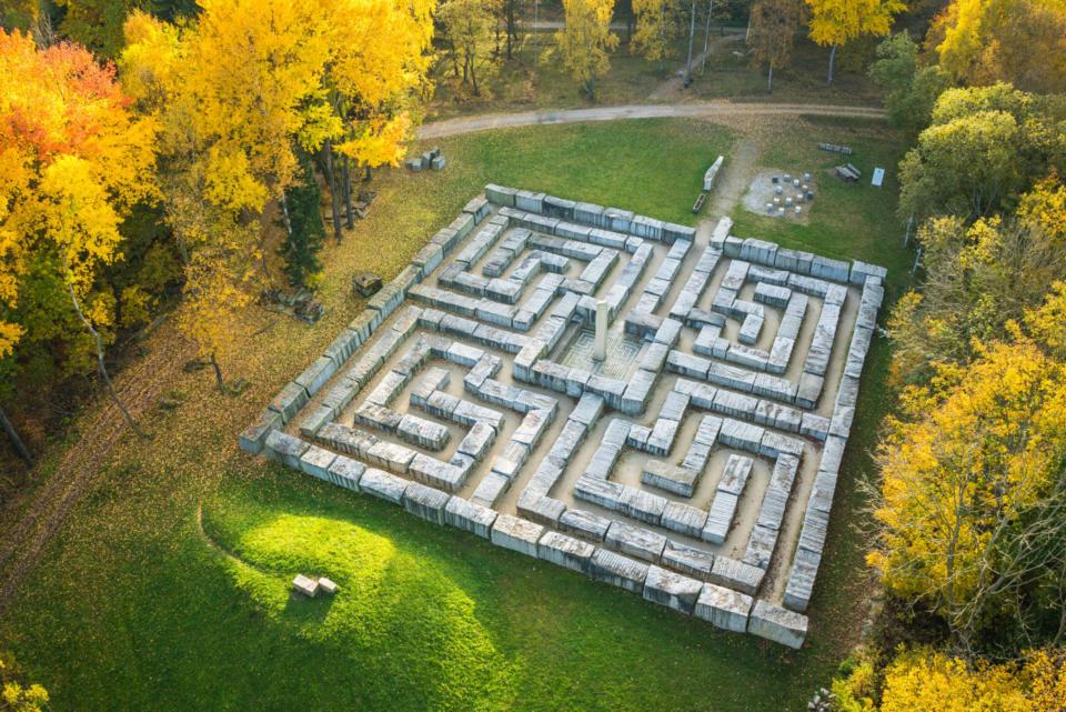 Granitlabyrinth in Epprechtstein