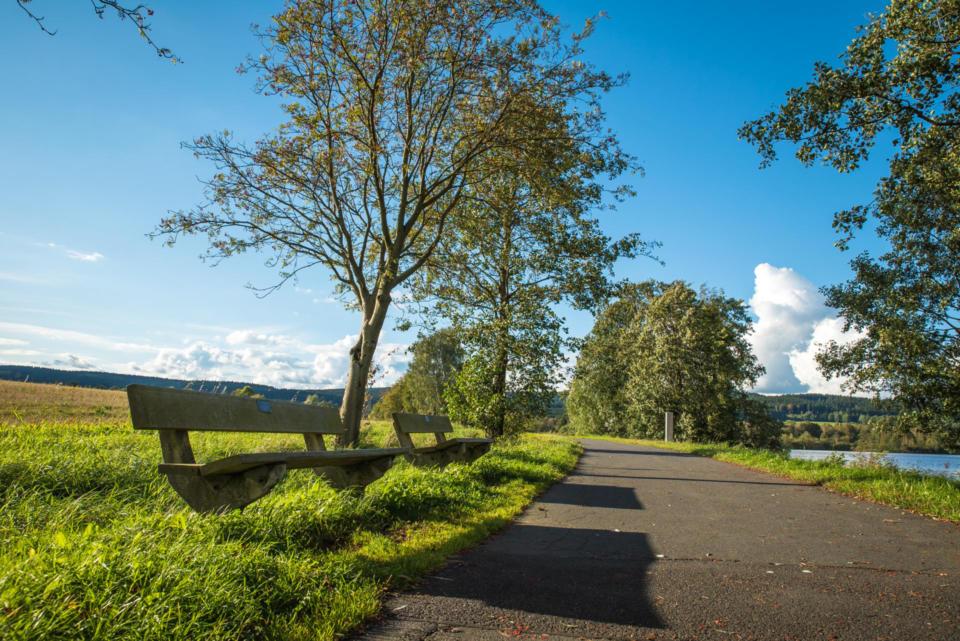 Rad- und Wanderweg um den Weißenstädter See